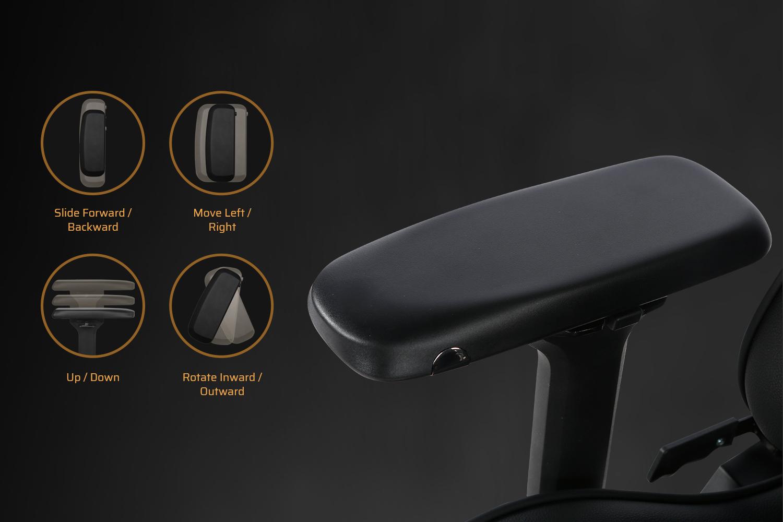 Full-Metal 4D Armrest