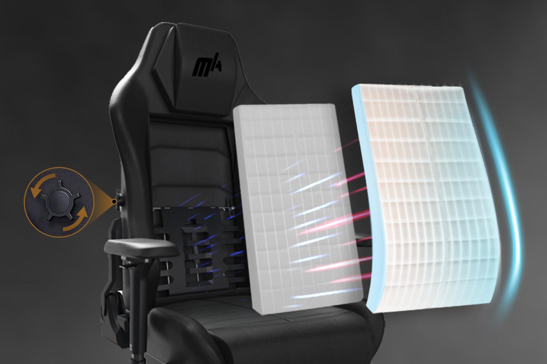 Integrated Lumbar Support